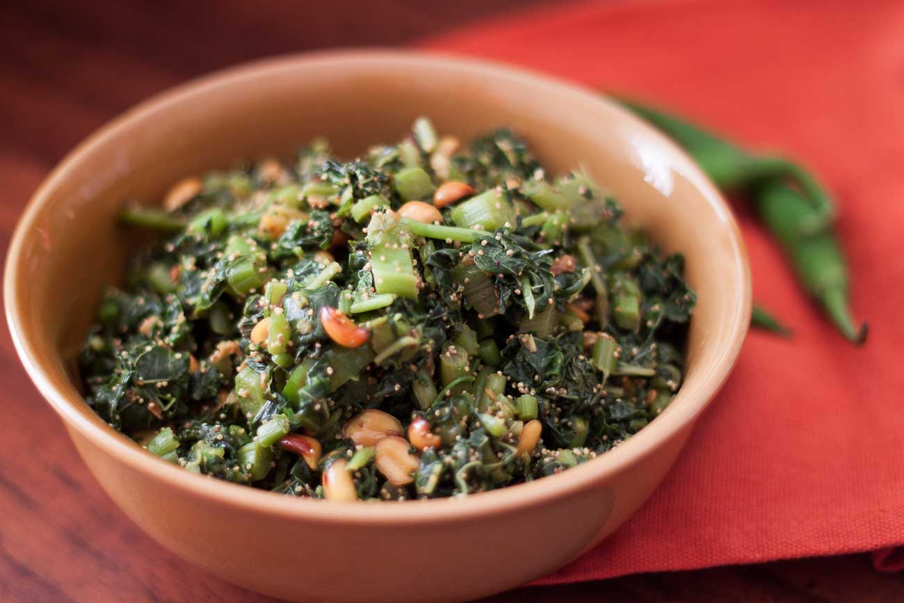 Eat Green Leafy Vegetables for Quick Weight Loss