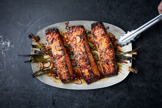 Eat Salmon for Quick Weight Loss