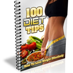 100 Diet Tips - Lose Weight